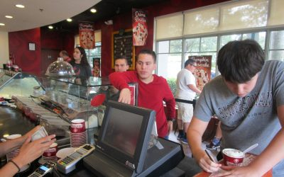 """Dessert at Cold Stone Creamery was a Bit """"Taxing"""""""