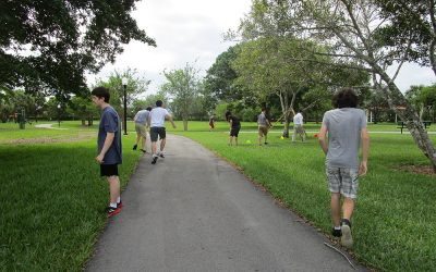 Developing Team Building and Communication Skills at Regional Park